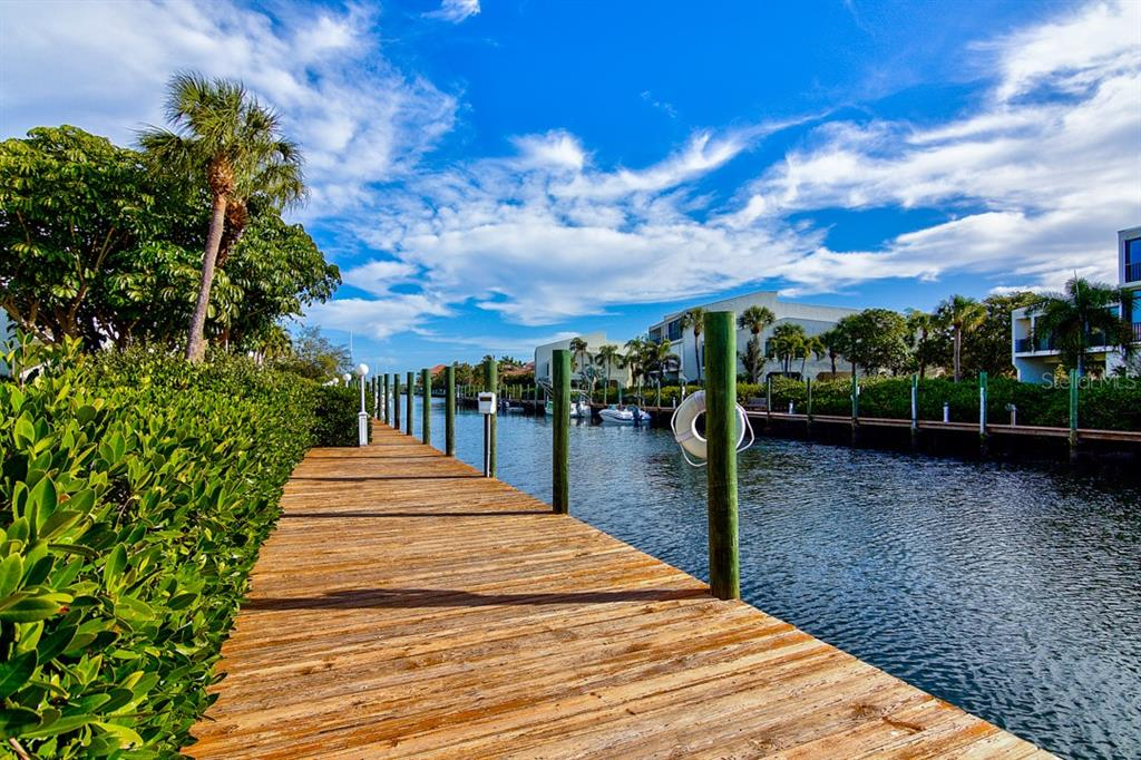 40 ft. Dock with electric and water - Condo for sale at 4115 129th St W #4115, Cortez, FL 34215 - MLS Number is A4424939