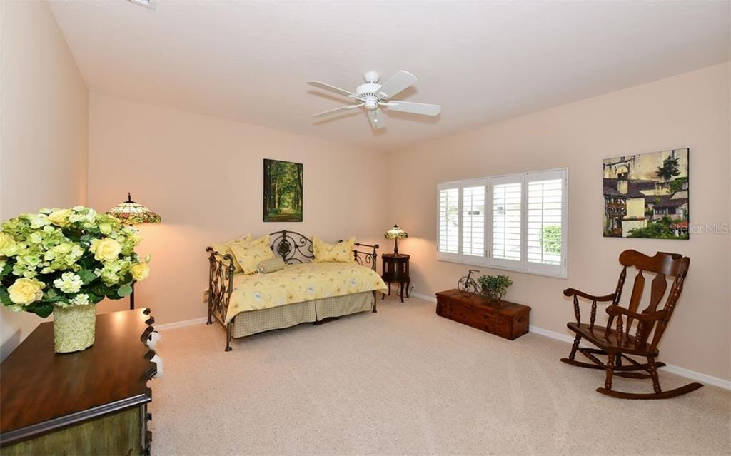 Bedroom 3 is large and spacious - Single Family Home for sale at 7867 Estancia Way, Sarasota, FL 34238 - MLS Number is A4426528