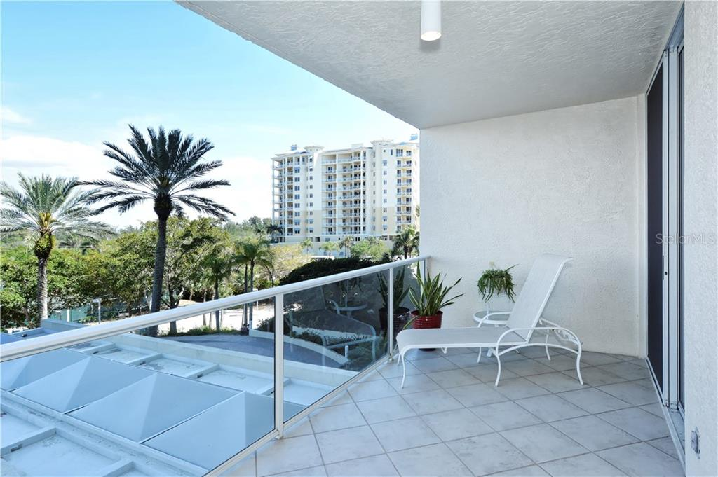 Blissful Balcony - Condo for sale at 1800 Benjamin Franklin Dr #b309, Sarasota, FL 34236 - MLS Number is A4430464
