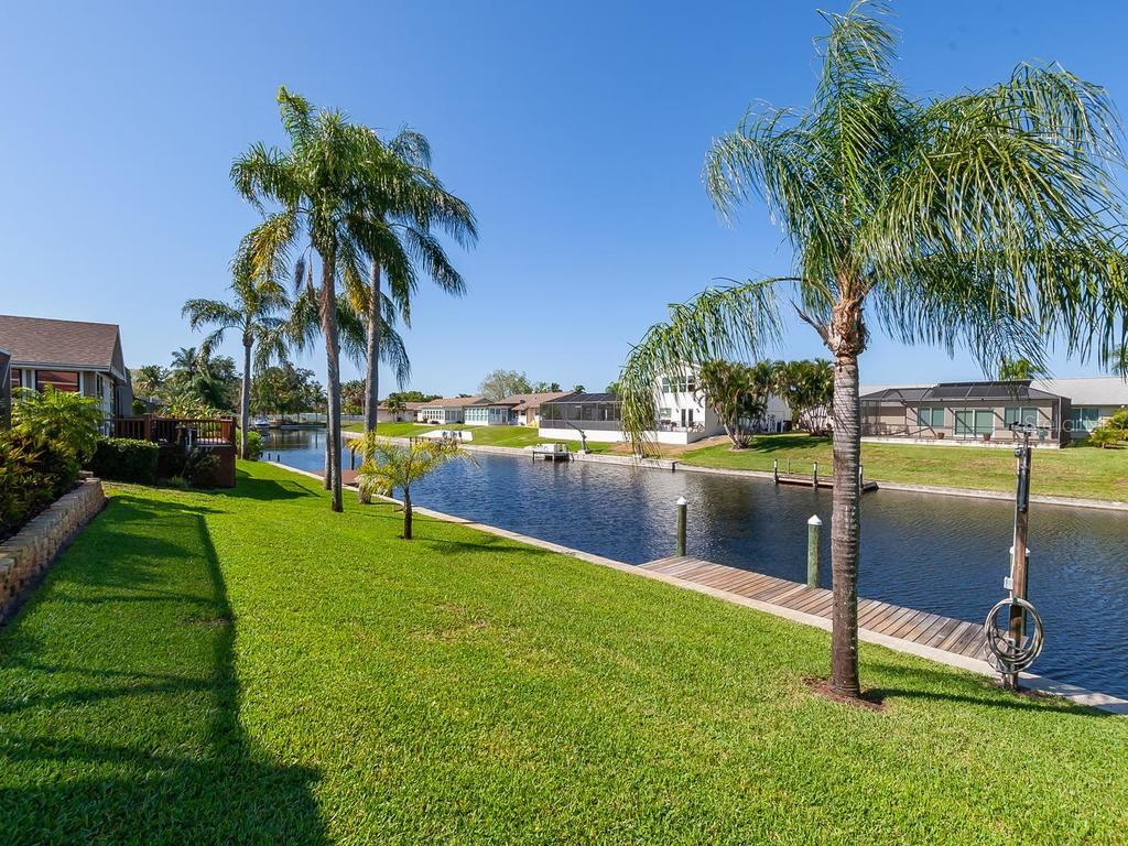 Electric and water are at the dock. - Single Family Home for sale at 4908 Coral Lake Dr, Bradenton, FL 34210 - MLS Number is A4431516