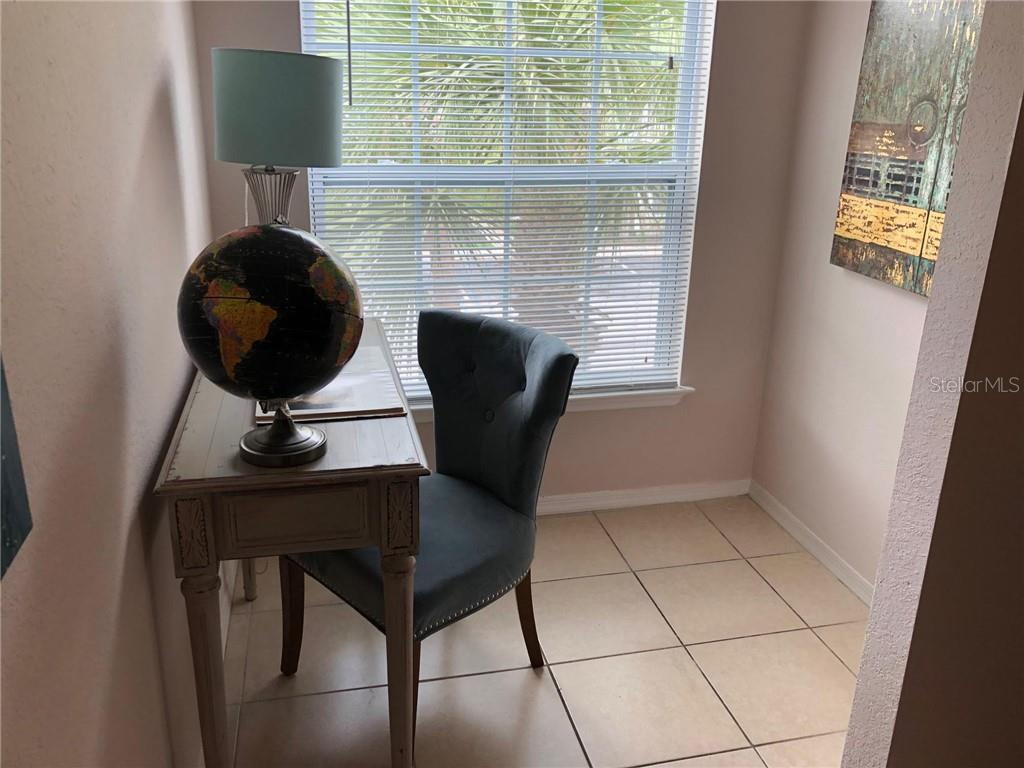 Study Nook - Condo for sale at 5511 Rosehill Rd #201, Sarasota, FL 34233 - MLS Number is A4431621