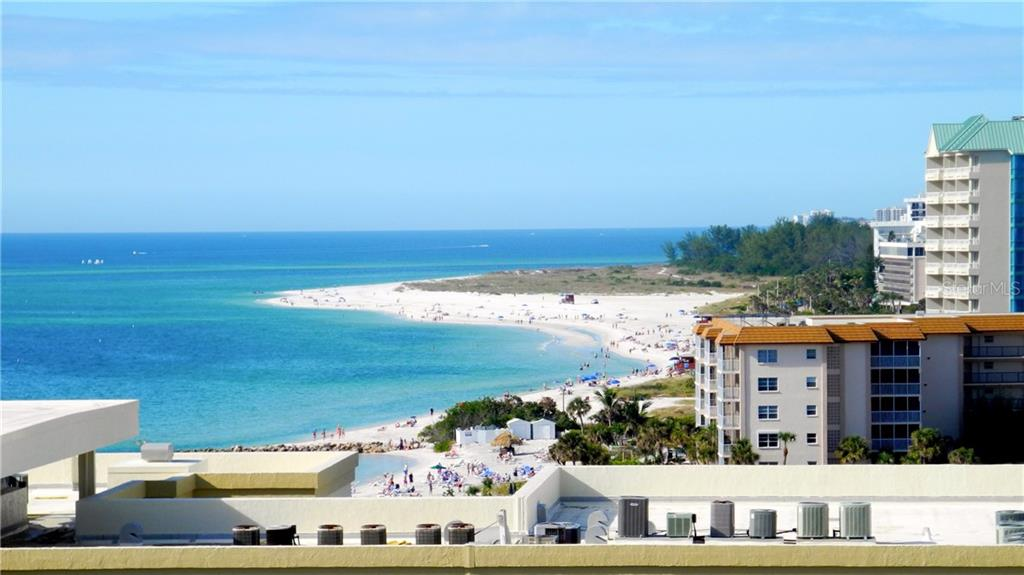 Owner's photo from balcony - Condo for sale at 1212 Benjamin Franklin Dr #1108, Sarasota, FL 34236 - MLS Number is A4433223