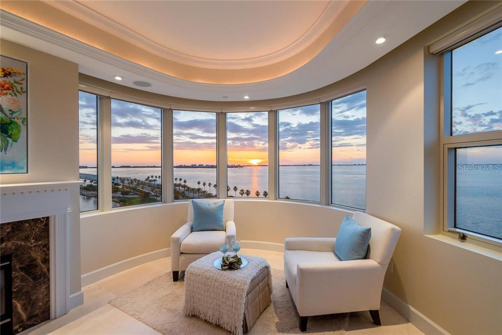 Sunset Ambiance for your incredible Nook overlooking the Best of Sarasota! - Condo for sale at 128 Golden Gate Pt #902a, Sarasota, FL 34236 - MLS Number is A4433296