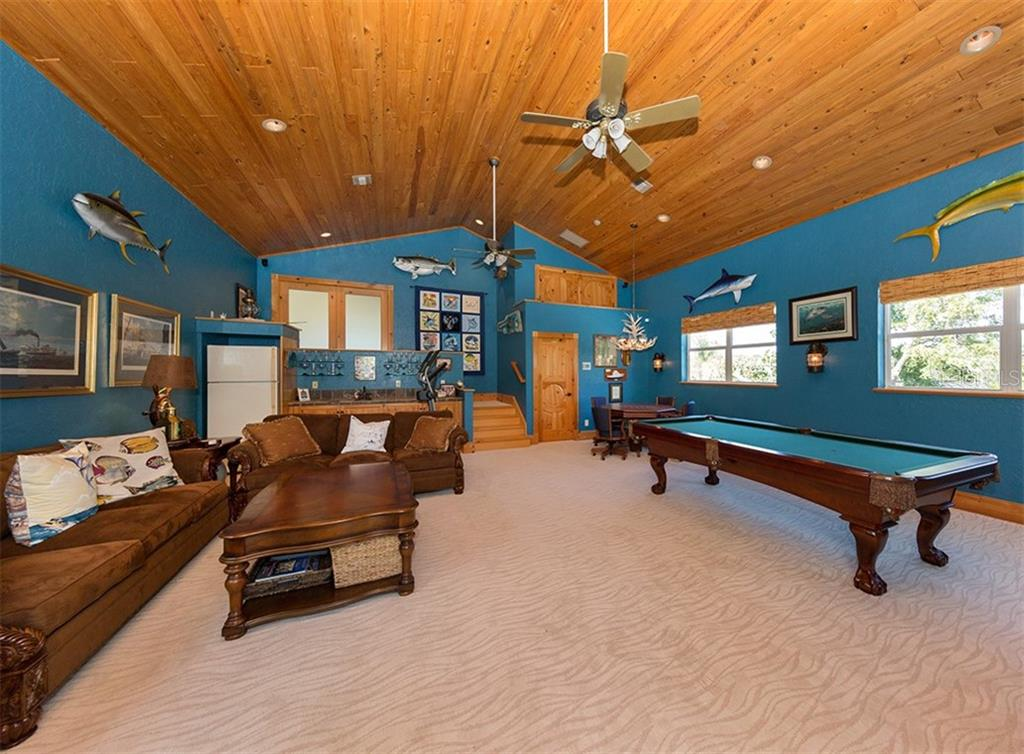 Game room - Single Family Home for sale at 1361 Bayshore Dr, Englewood, FL 34223 - MLS Number is A4433943