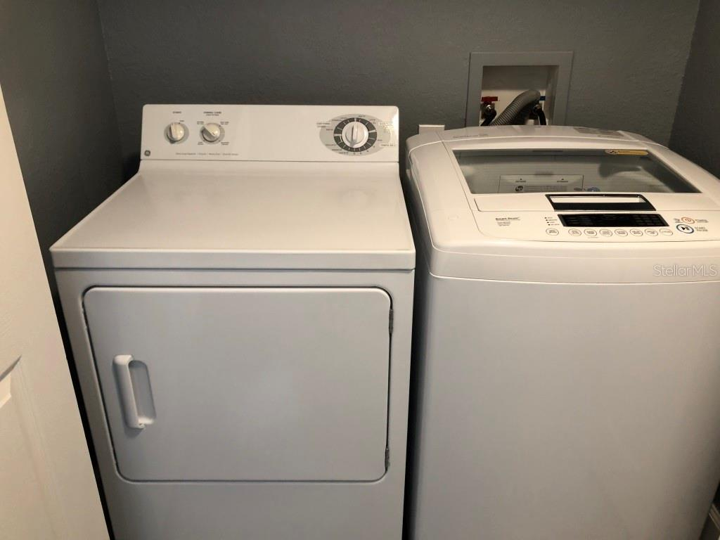 Washer and dryer in unit - Condo for sale at 8923 Manor Loop #106, Lakewood Ranch, FL 34202 - MLS Number is A4434002