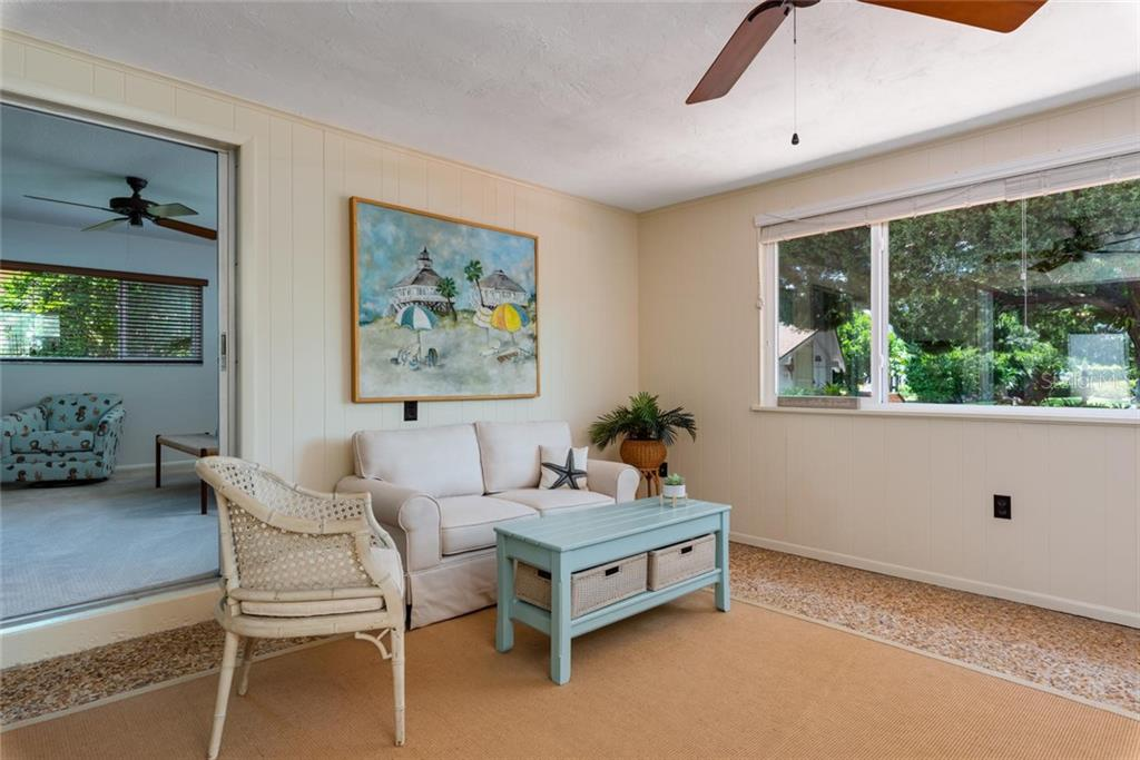 What a spot to have your coffee in the morning or your glass of something chilled in the evening! - Single Family Home for sale at 701 Norton St, Longboat Key, FL 34228 - MLS Number is A4440596