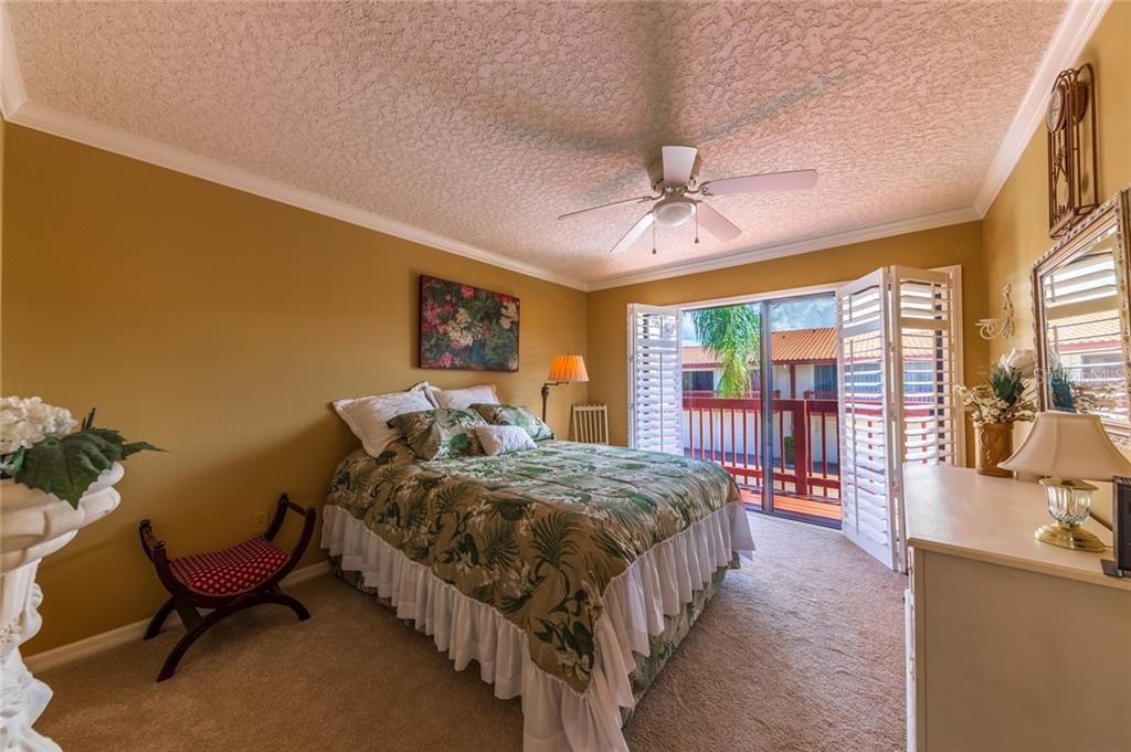 Bedroom 2 - Townhouse for sale at 734 Sorrento Inlt, Nokomis, FL 34275 - MLS Number is A4441958
