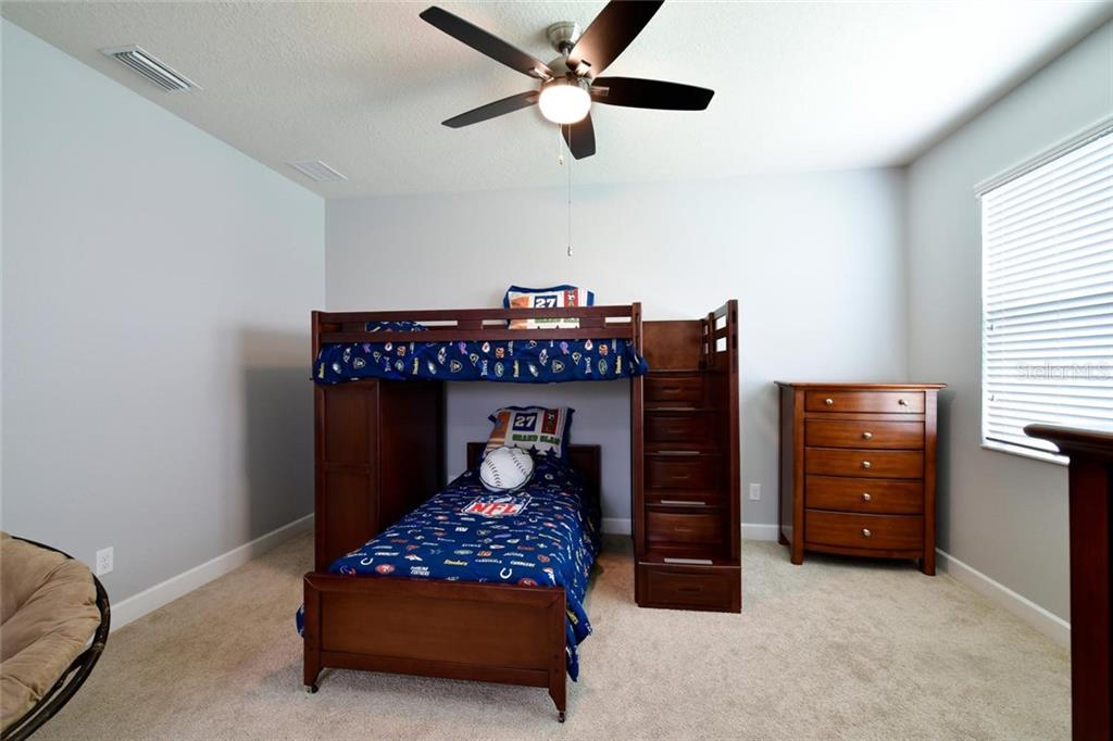 Bedroom 3 - Single Family Home for sale at 12813 Balsam Ter, Bradenton, FL 34212 - MLS Number is A4443590