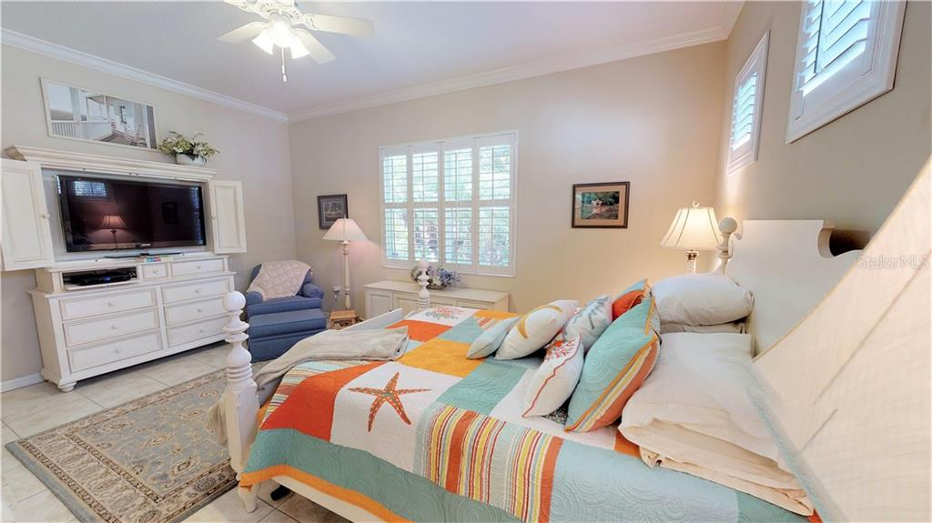 Master bedroom- very spacious! - Single Family Home for sale at 7288 Lismore Ct, Lakewood Ranch, FL 34202 - MLS Number is A4449934