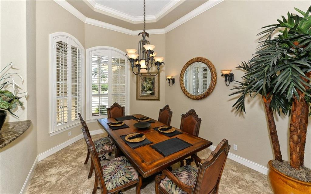 Formal Dining Room - Single Family Home for sale at 586 N Macewen Dr, Osprey, FL 34229 - MLS Number is A4451482