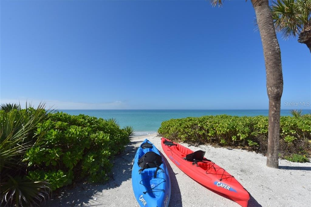 Perfect for a day on the water kayaking or stand up paddle board - Single Family Home for sale at 1027 N Casey Key Rd, Osprey, FL 34229 - MLS Number is A4451976