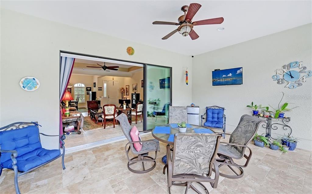 Outdoor living space - Single Family Home for sale at 8260 Larkspur Cir, Sarasota, FL 34241 - MLS Number is A4455087