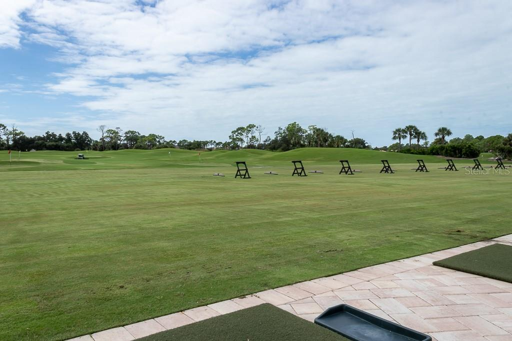 Driving range - Condo for sale at 9630 Club South Cir #6102, Sarasota, FL 34238 - MLS Number is A4463325
