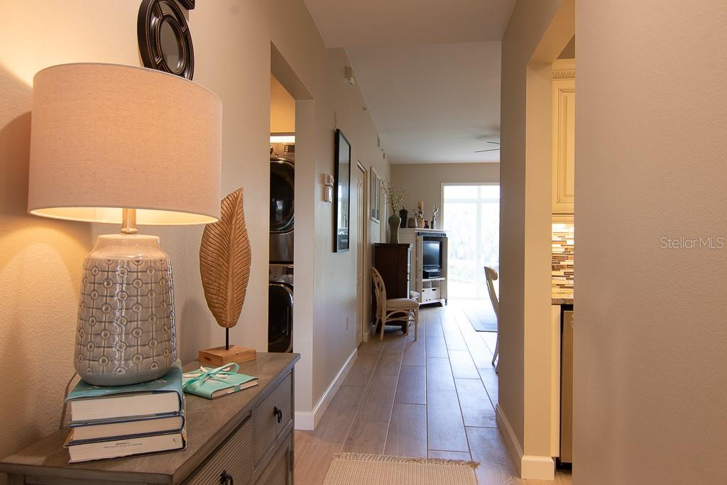 Inviting foyer - Condo for sale at 9630 Club South Cir #6102, Sarasota, FL 34238 - MLS Number is A4463325