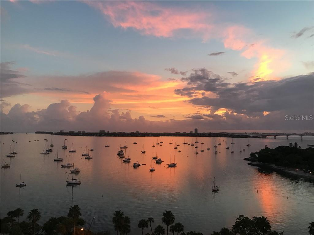 Sunset on Sarasota Bay - Condo for sale at 500 S Palm Ave #102, Sarasota, FL 34236 - MLS Number is A4469606