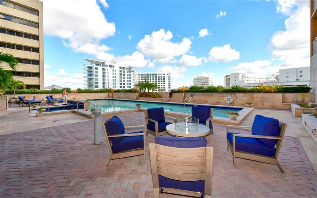 Lots of spaces to relax - Condo for sale at 1350 Main St #1001, Sarasota, FL 34236 - MLS Number is A4472708