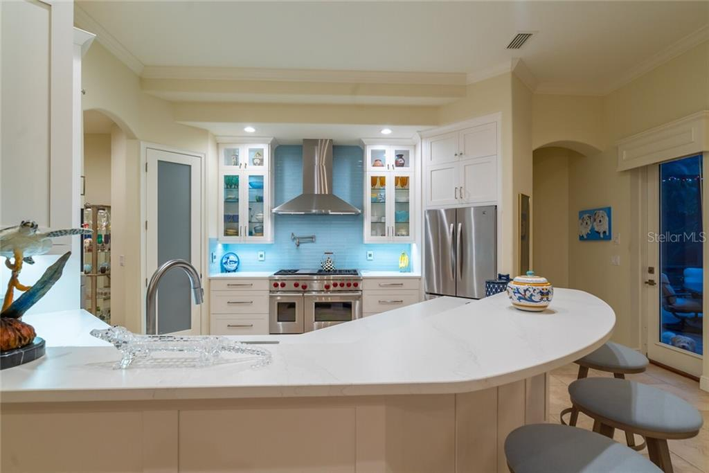Quartz suede countertops - Single Family Home for sale at 1907 Clematis St, Sarasota, FL 34239 - MLS Number is A4474600