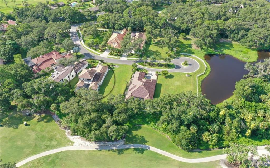 Wood Ridge Community Overview; 3538 Trebor Lane is circled - Single Family Home for sale at 3538 Trebor Ln, Sarasota, FL 34235 - MLS Number is A4475545