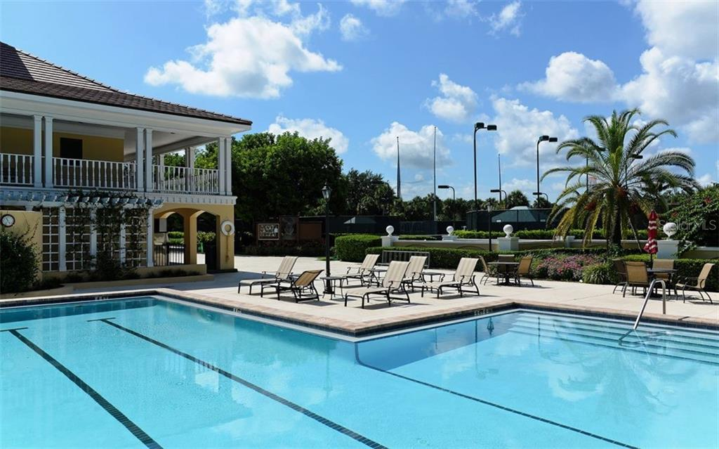 Community pool - Single Family Home for sale at 462 E Macewen Dr, Osprey, FL 34229 - MLS Number is A4476181