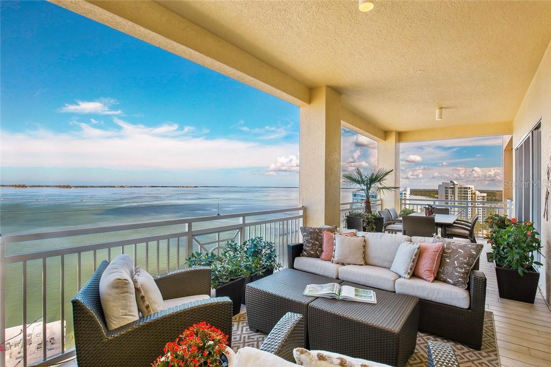 Panoramic SW views - Condo for sale at 35 Watergate Dr #1803, Sarasota, FL 34236 - MLS Number is A4476458