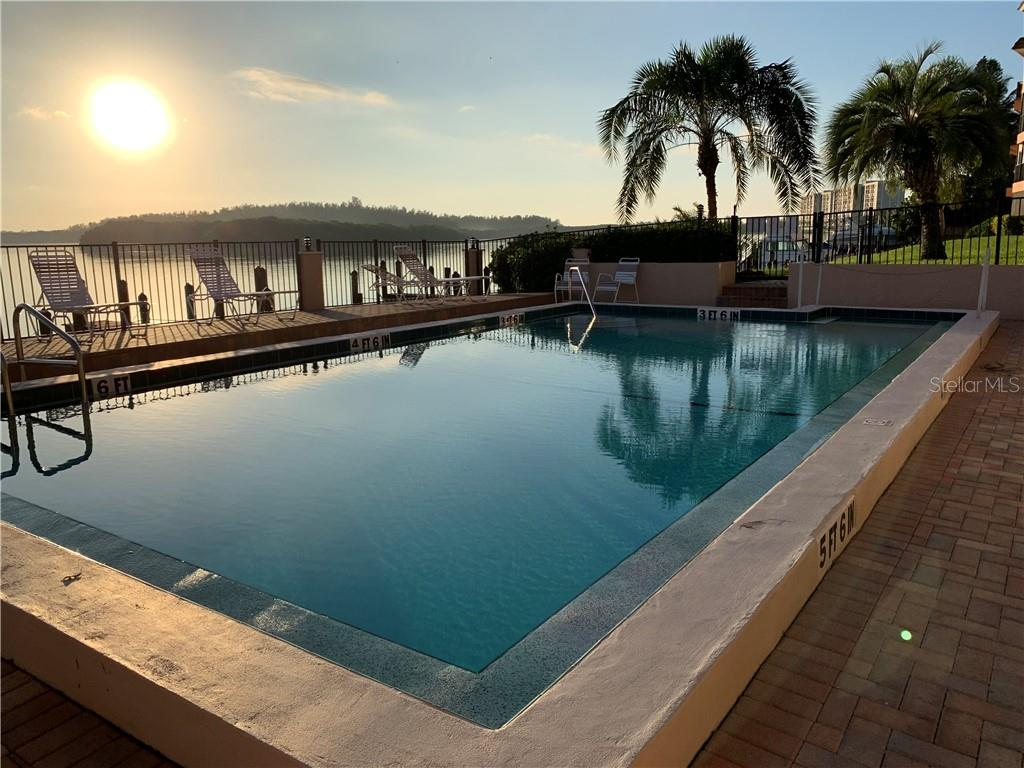 Southern Bayfront Pool just steps from the unit - Condo for sale at 9011 Midnight Pass Rd #328, Sarasota, FL 34242 - MLS Number is A4483601
