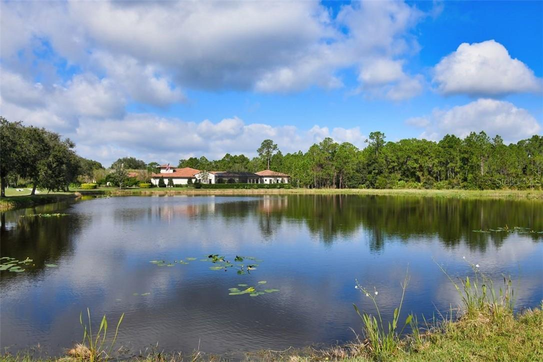 Pond view - Single Family Home for sale at 7832 Panther Ridge Trl, Bradenton, FL 34202 - MLS Number is A4483837