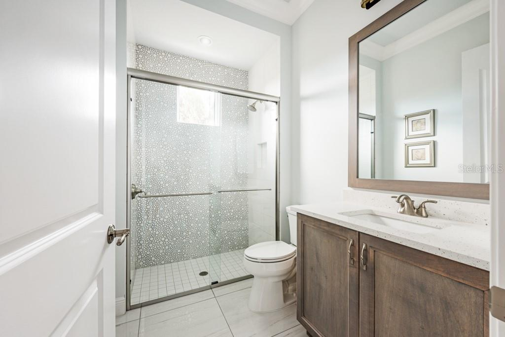 4th Full Bathroom Next To The Gym - Single Family Home for sale at 121 Seagull Ln, Sarasota, FL 34236 - MLS Number is A4483951