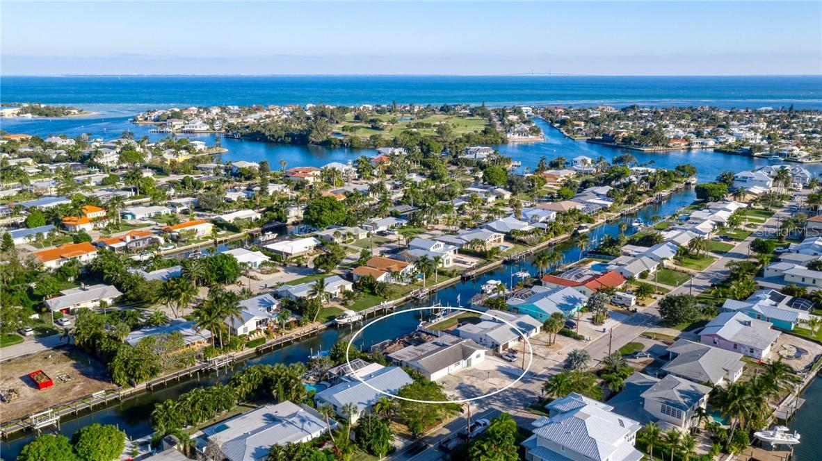 68th St. canal to Bimini Bay and Tampa Bay beyond! - Single Family Home for sale at 512 68th St, Holmes Beach, FL 34217 - MLS Number is A4484565