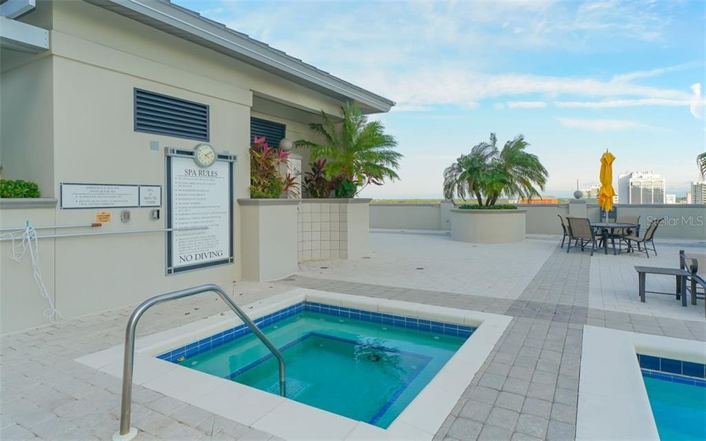 Spa - Condo for sale at 50 Central Ave #14b, Sarasota, FL 34236 - MLS Number is A4487974
