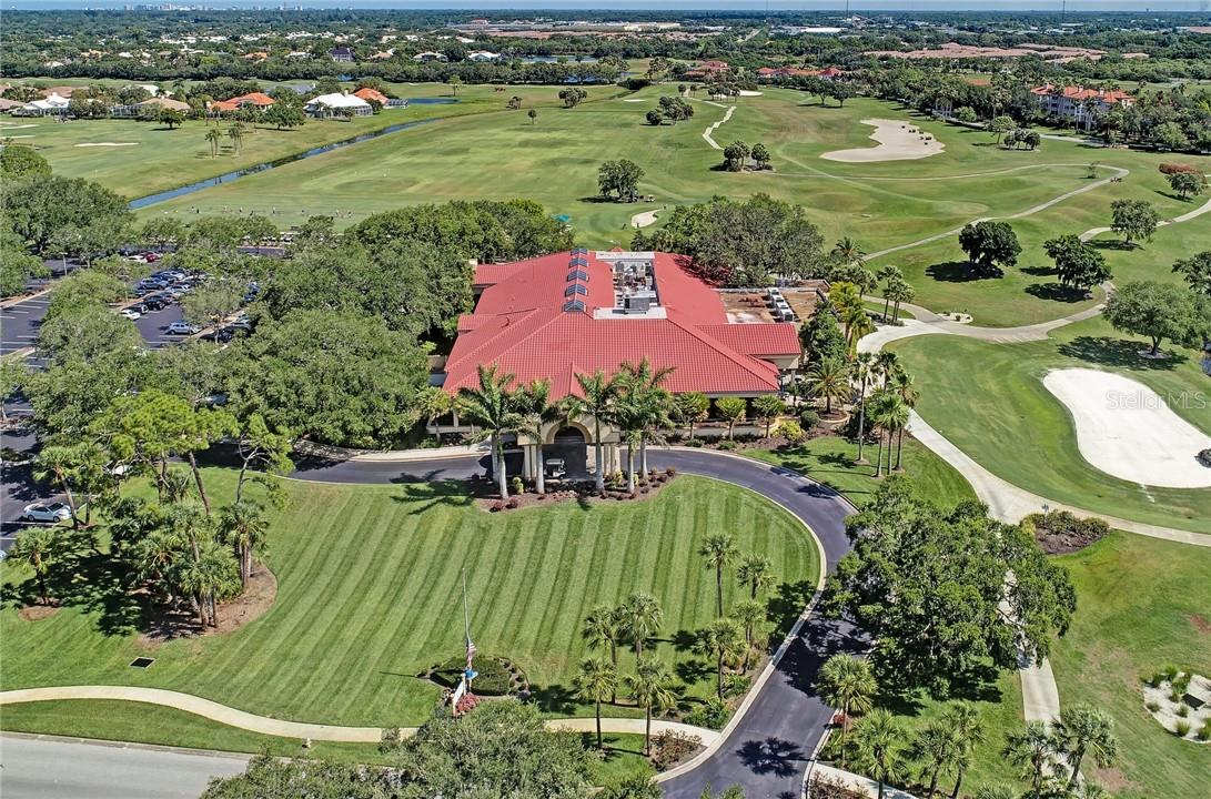 TPC Prestancia Golf & Social Club - membership is optional, and it's just a golf cart ride away! - Single Family Home for sale at 7879 Estancia Way, Sarasota, FL 34238 - MLS Number is A4490318