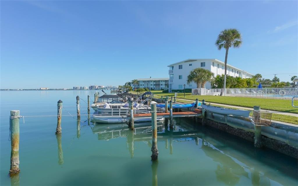 A number of docks for boat enthusiasts - Condo for sale at 761 John Ringling Blvd #28, Sarasota, FL 34236 - MLS Number is A4490945