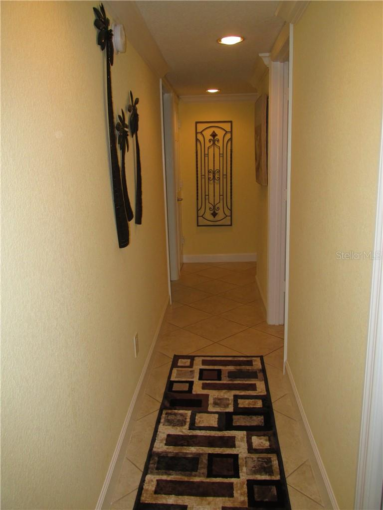 HALLWAY - Condo for sale at 1087 W Peppertree Dr #221d, Sarasota, FL 34242 - MLS Number is A4493593