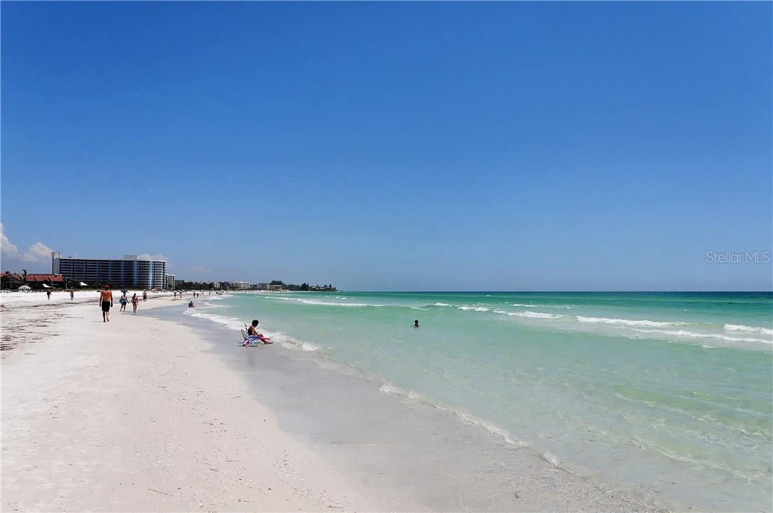 Beach and Gulf of Mexico - Condo for sale at 1200 E Peppertree Ln #602, Sarasota, FL 34242 - MLS Number is A4495963