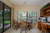 Casual dining area in kitchen - Condo for sale at 7631 Fairway Woods Dr #601, Sarasota, FL 34238 - MLS Number is A4168292