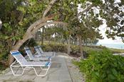 Shady sitting area! - Condo for sale at 4900 Ocean Blvd #503, Sarasota, FL 34242 - MLS Number is A4171070