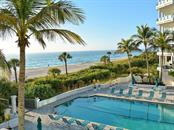 Pool View - Condo for sale at 655 Longboat Club Rd #13a, Longboat Key, FL 34228 - MLS Number is A4171637