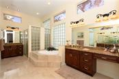 Master Bedroom - Single Family Home for sale at 602 Weston Pointe Ct, Longboat Key, FL 34228 - MLS Number is A4178531