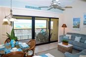 Living Area - Beach view - Condo for sale at 4621 Gulf Of Mexico Dr #11c, Longboat Key, FL 34228 - MLS Number is A4187979