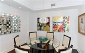 DINING ROOM - Condo for sale at 100 Central Ave #h716, Sarasota, FL 34236 - MLS Number is A4193586