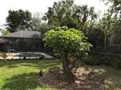 Back yard - Single Family Home for sale at 5530 Cape Leyte Dr, Sarasota, FL 34242 - MLS Number is A4209986