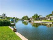 Deep-water canal - Single Family Home for sale at 422 Meadow Lark Dr, Sarasota, FL 34236 - MLS Number is A4410562