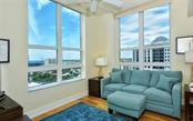 The second bedroom - Condo for sale at 1350 Main St #1500, Sarasota, FL 34236 - MLS Number is A4433444