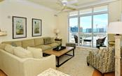 Relax and enjoy the sunshine and view - Condo for sale at 1350 Main St #1500, Sarasota, FL 34236 - MLS Number is A4433444