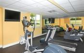 A ground level exercise facility where you can watch TV or look outside - Condo for sale at 800 N Tamiami Trl #602, Sarasota, FL 34236 - MLS Number is A4436915