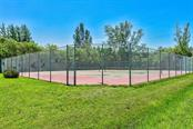Community tennis courts - Vacant Land for sale at 724 Hideaway Bay Ln, Longboat Key, FL 34228 - MLS Number is A4441068