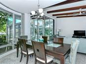 Dining Room - Floor to Ceiling Glass - Single Family Home for sale at 225 John Ringling Blvd, Sarasota, FL 34236 - MLS Number is A4443640
