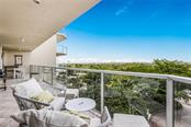 View from Master Balcony. - Condo for sale at 1800 Benjamin Franklin Dr #b408, Sarasota, FL 34236 - MLS Number is A4444789