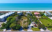 Outline of lot plus easement to Gulf beyond - Vacant Land for sale at 5809 Gulf Of Mexico Dr, Longboat Key, FL 34228 - MLS Number is A4460950