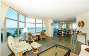 Living space with view to dining - Condo for sale at 888 Blvd Of The Arts #705, Sarasota, FL 34236 - MLS Number is A4461143