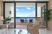 Wide Balcony perfect for dining outside - Condo for sale at 2016 Harbourside Dr #352, Longboat Key, FL 34228 - MLS Number is A4470767